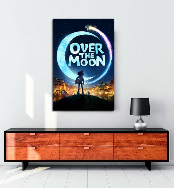 Over The Moon kanvas tablo