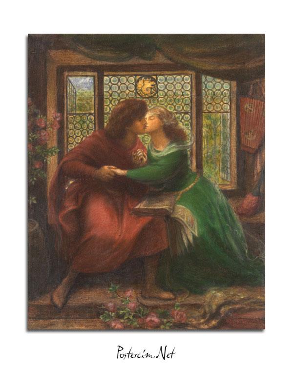 Paolo and Francesca da Rimini afişi