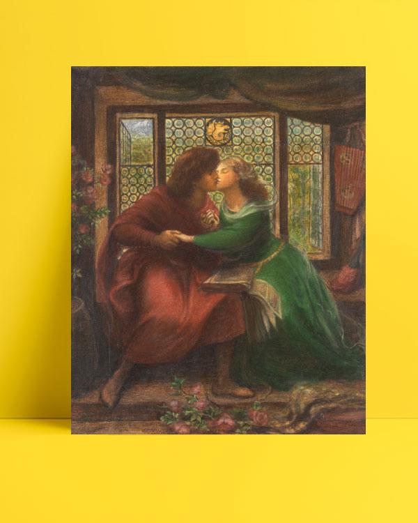 Paolo and Francesca da Rimini posteri