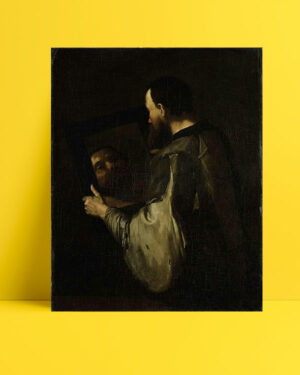 Philosopher with Mirror posteri