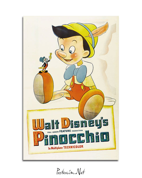 Pinocchio (1940) afisi