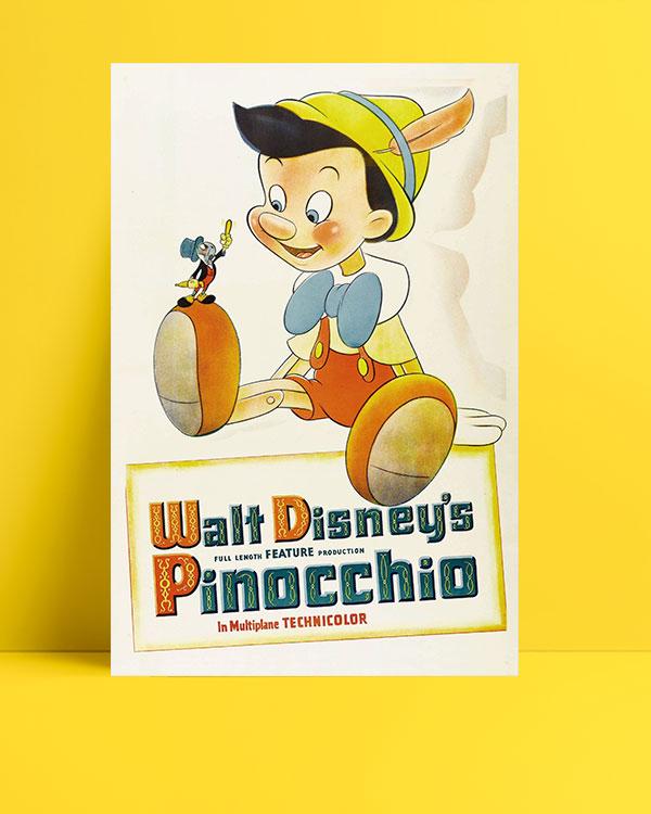 Pinocchio (1940) posteri