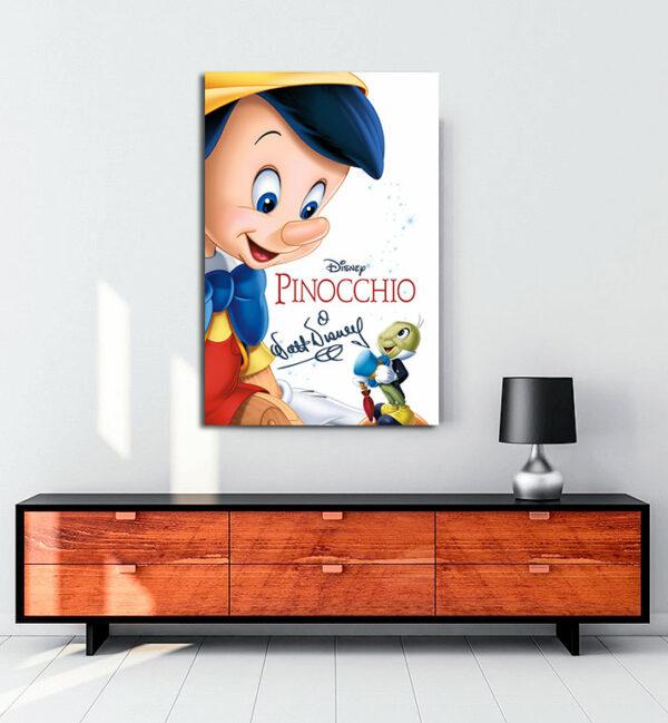 Pinocchio kanvas tablo