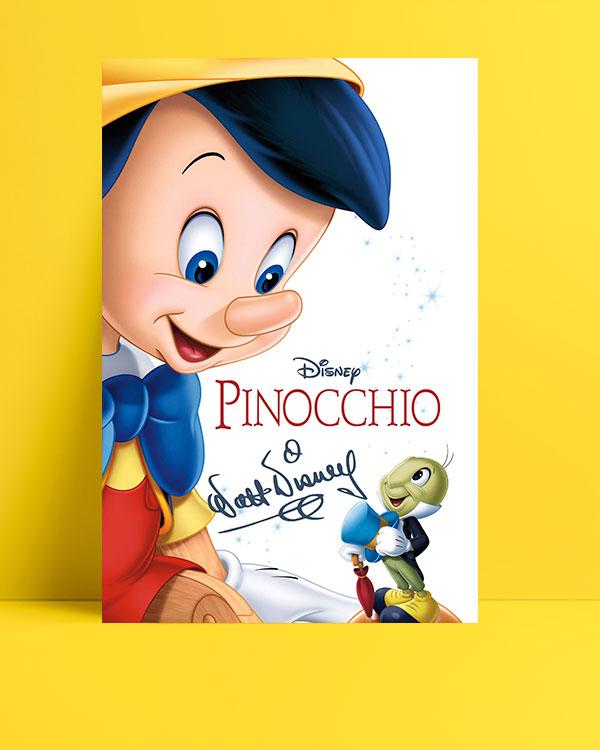 Pinocchio posteri
