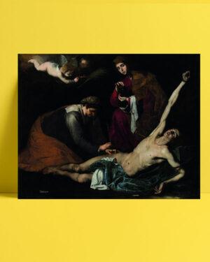 Saint Sebastian Tended by the Holy Women posteri