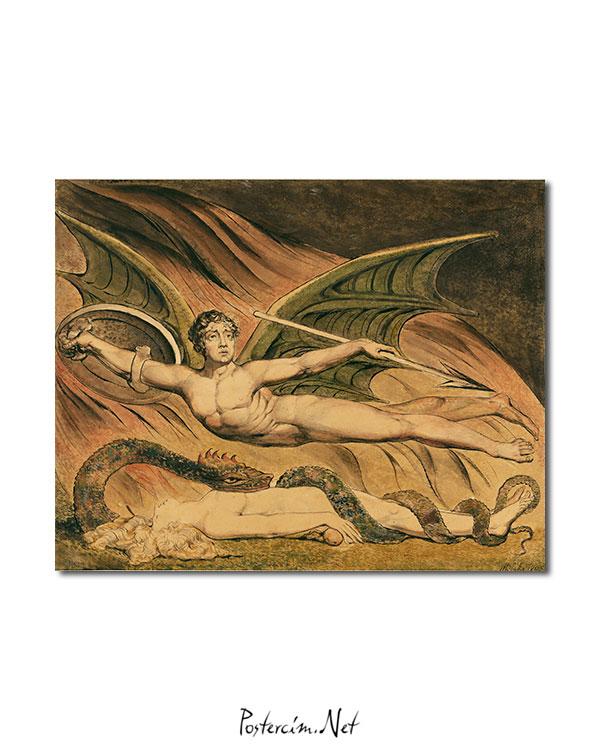 Satan Exulting over Eve afisi