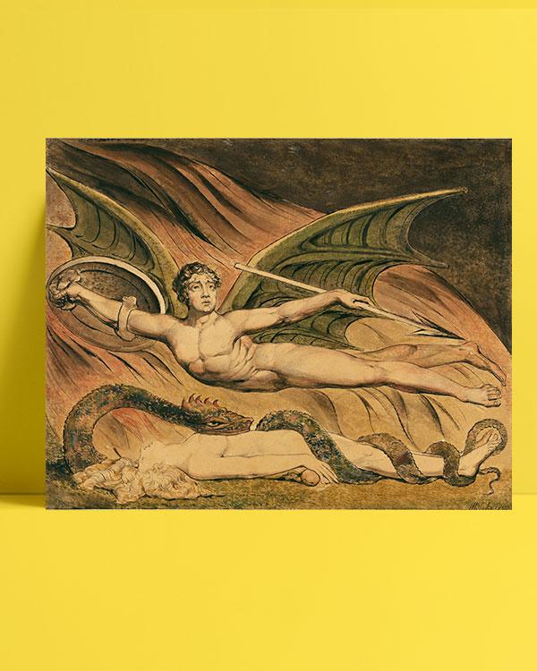 Satan Exulting over Eve posteri