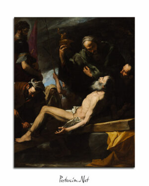 The Martyrdom of Saint Andrew afisi
