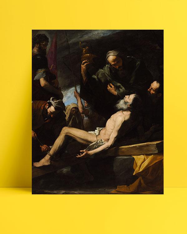 The Martyrdom of Saint Andrew posteri