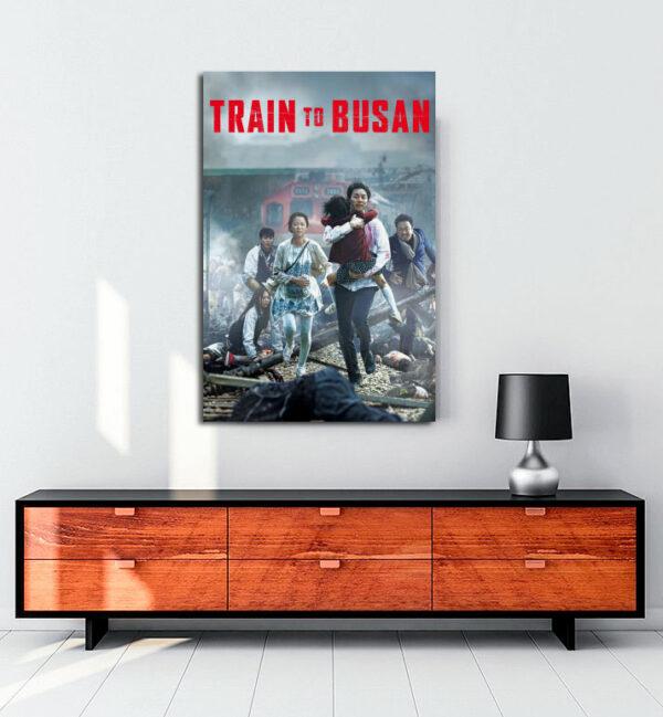 Train to busan kanvas tablo