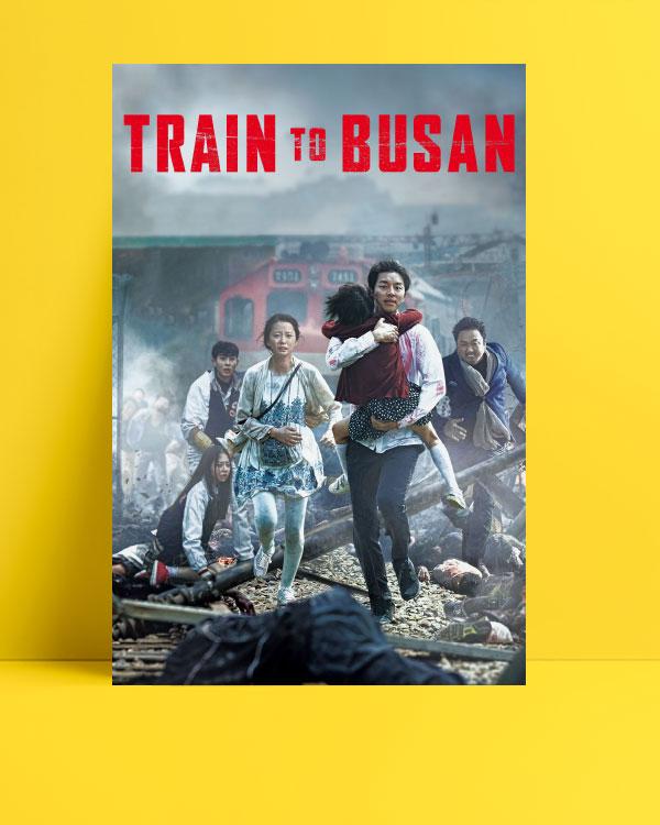 Train to busan posteri