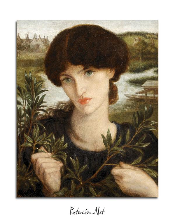 Dante Gabriel Rossetti afişi