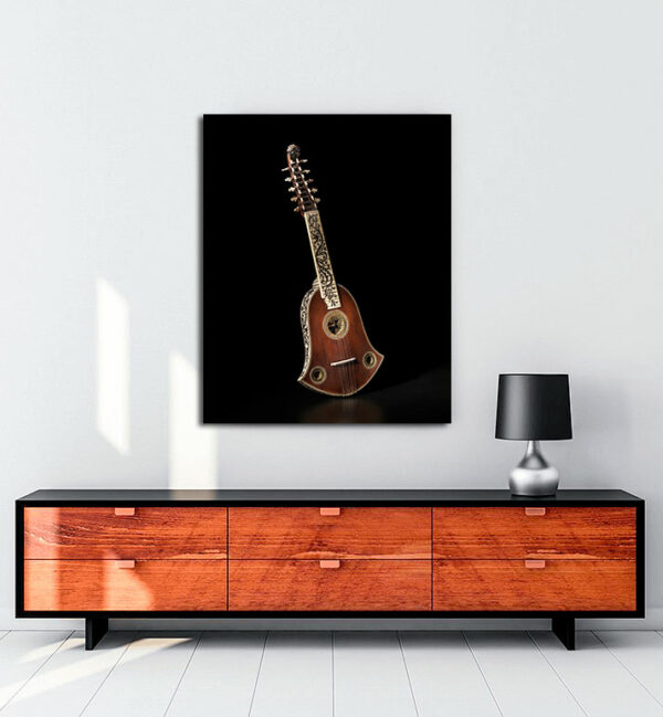 Cittern-müzik-enstrümanı-kanvas-tablo