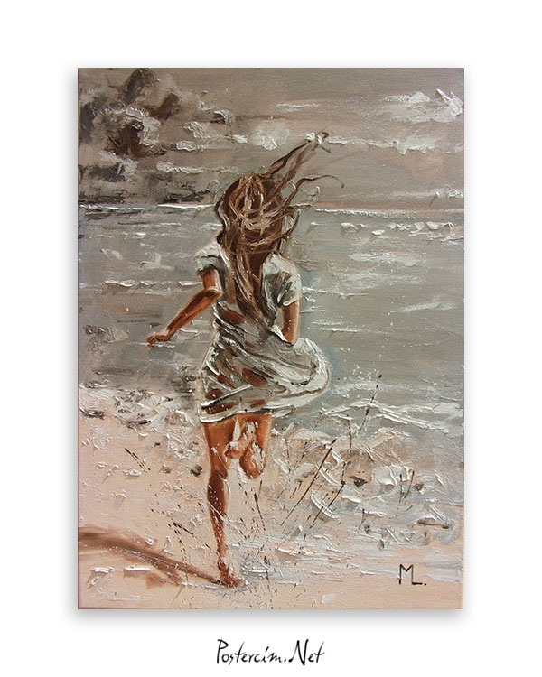 Denize koşmak posteri afisi
