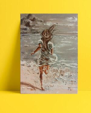 Denize koşmak posteri