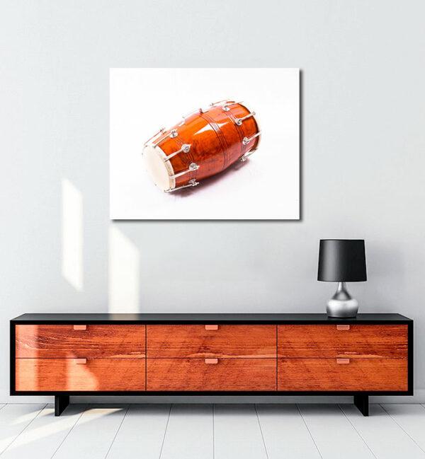 Dholak-müzik-enstrümanı-kanvas-tablo