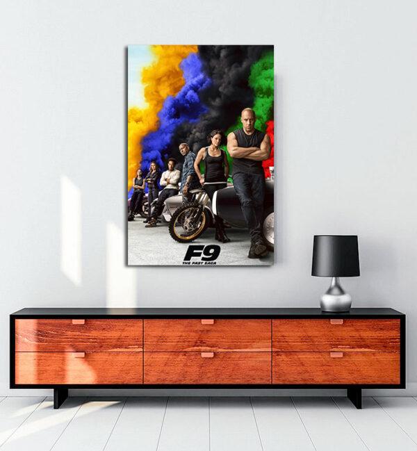 Hızlı-ve-öfkeli-F9-kanvas-tablo