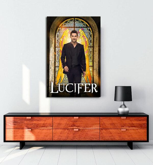 Lucifer-kanvas-tablo
