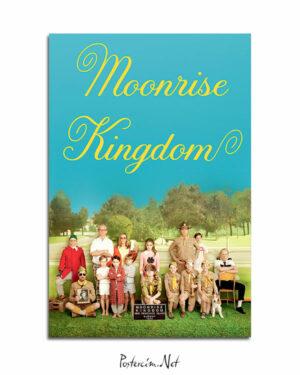 Moonrise Kingdom afisi