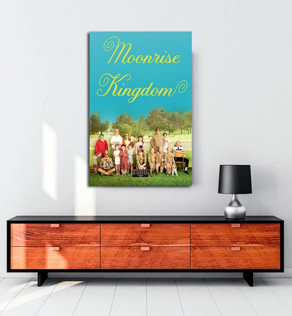 Moonrise Kingdom kanvas tablo