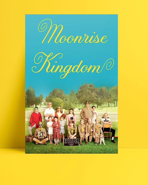 Moonrise Kingdom posteri