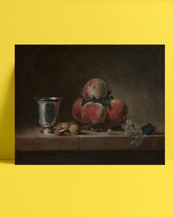 Still-Life-with-Peaches-posteri