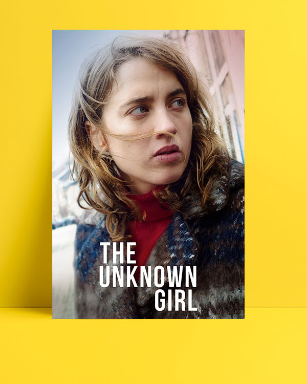 The unknown girl posteri