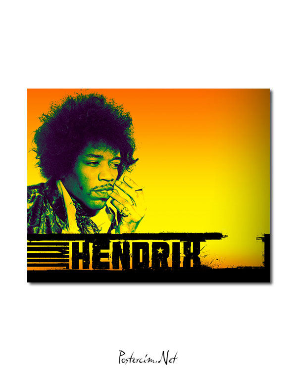 Jimi Hendrix afisi