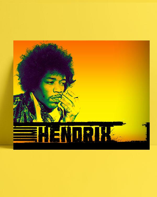 Jimi Hendrix posteri