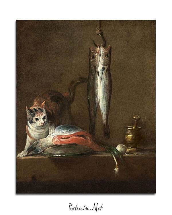 natürmort-kedi-balık-afisi