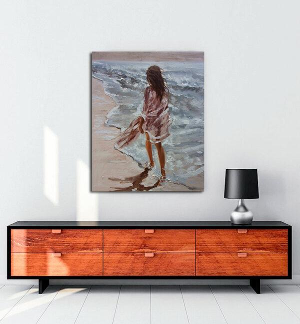 summer-walk-kanvas-tablo