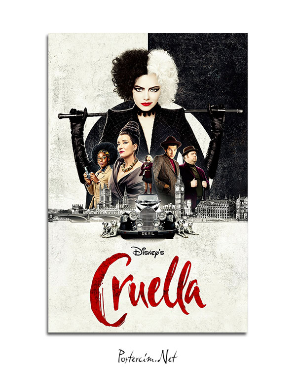 Cruella-afisi