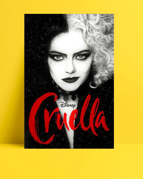 Cruella-black-white-posteri