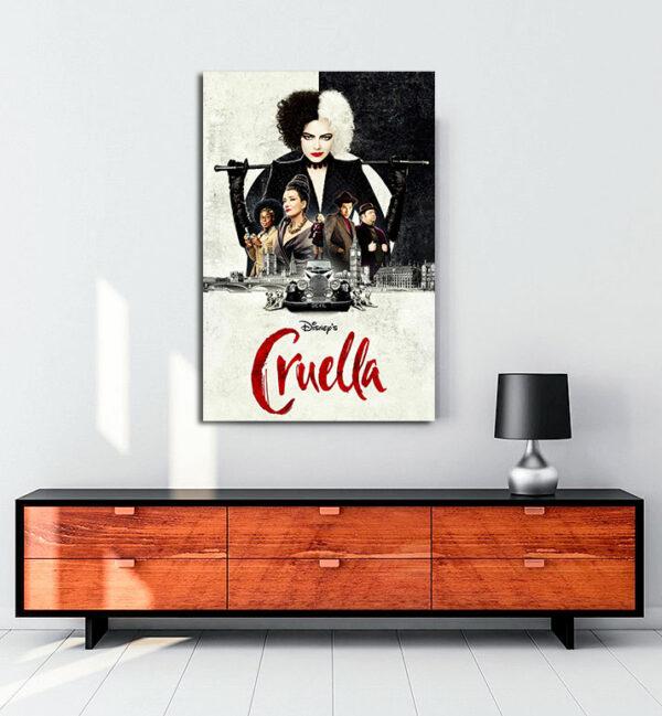 Cruella-kanvas-tablo