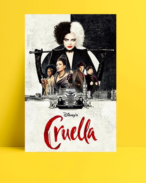 Cruella-posteri
