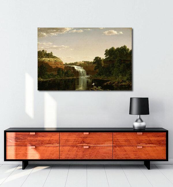 Lower-Falls-Rochester-kanvas-tablo