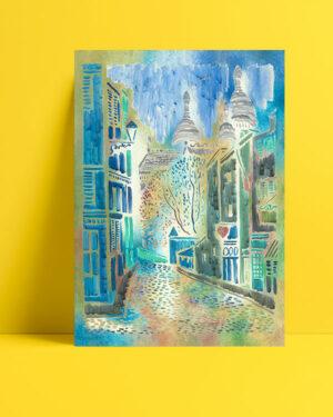 Montmartre'nin-küçük-sokağı-posteri