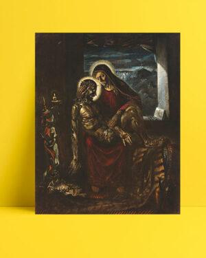 Pieta-heykeli-posteri