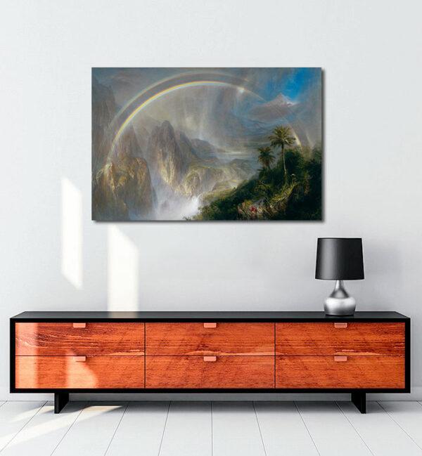 Rainy-Season-in-the-Tropics-kanvas-tablo