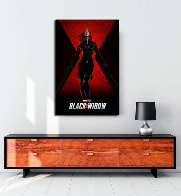 black-widow-kanvas-tablo