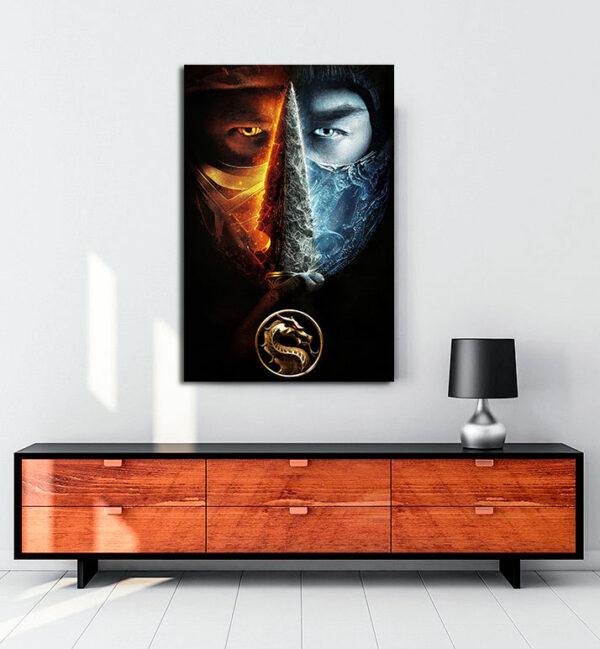 mortal-kombat-2021-kanvas-tablo