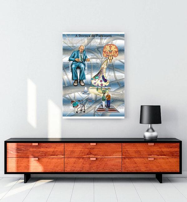 parkinson-hastalığı-A-Doenca-de-Parkinson-kanvas-tablo