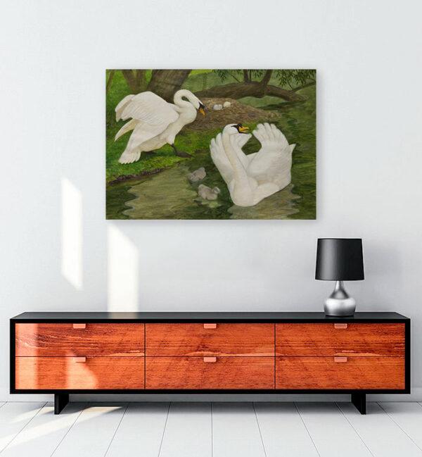 sessiz-kuğular-kanvas-tablo