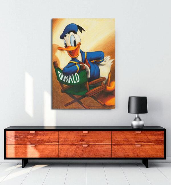 Donald-Duck-kanvas-tablo