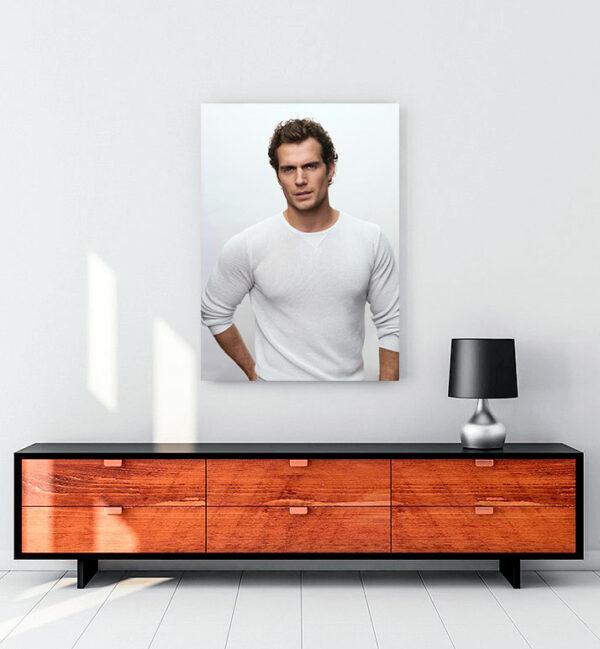 henry-cavill-white-kanvas-tablo