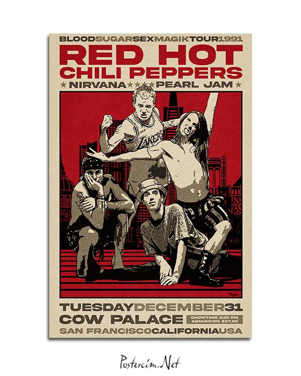 red-hot-chili-peppers-1991-turu-afisi