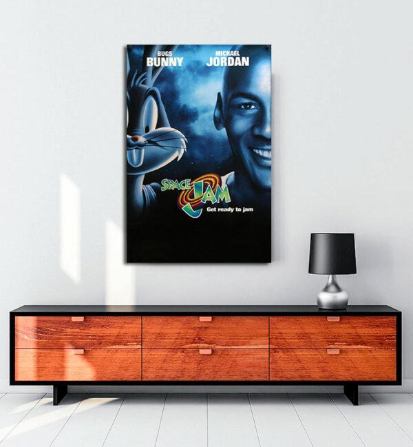 space-jam-1996-kanvas-tablo