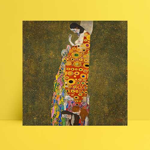 Gustav Klimt Umut Afiş