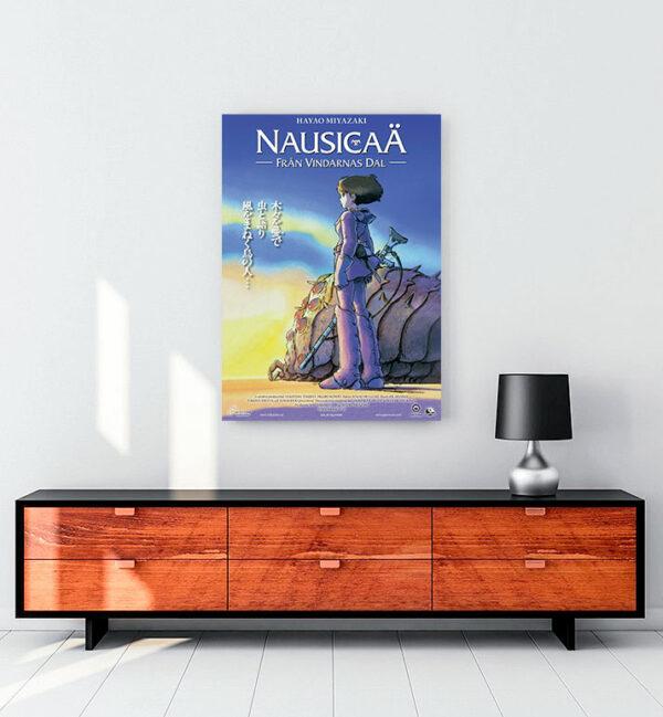 hayao-miyazaki-rüzgarlı-vadi-kanvas-tablo