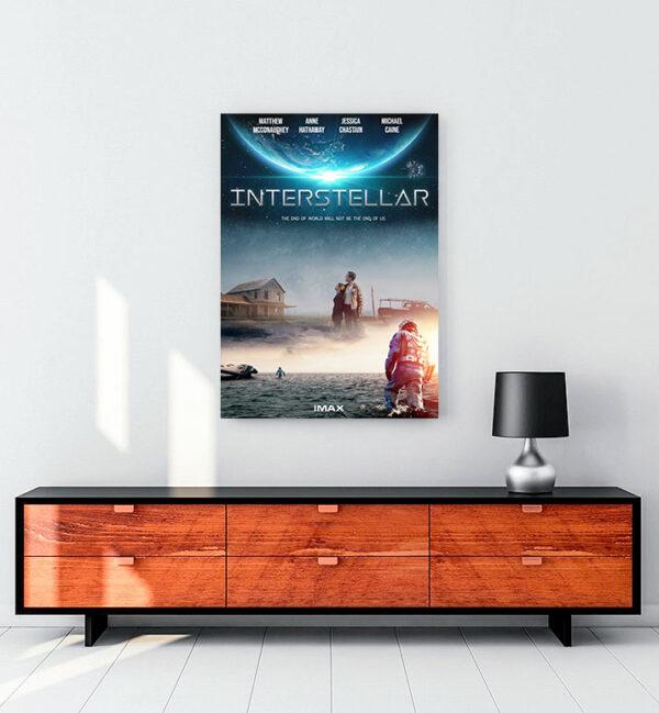 interstellar-yıldızlararası-kanvas-tablo